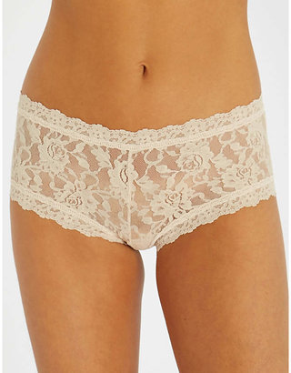 Hanky Panky Signature stretch-lace boyshort briefs