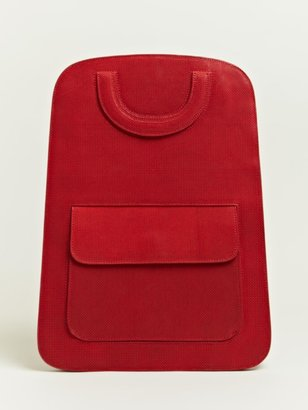 Maison Martin Margiela Women's Flat Basket Weave Back Pack