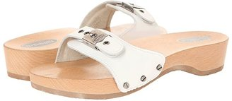Dr. Scholl's Original - Original Collection (White) Women's Slide Shoes