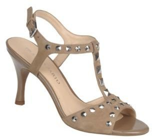 Franco Sarto Fun Suede T-Strap High-Heel Sandals