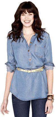 Fossil Erica Chambray Shirt