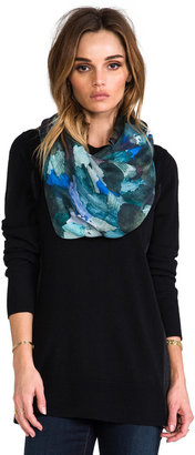 Marc by Marc Jacobs Paint Palette Print Scarf