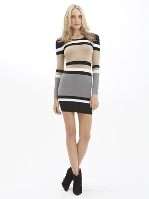 Torn By Ronny Kobo Cecilia Alternate Stripe Dress