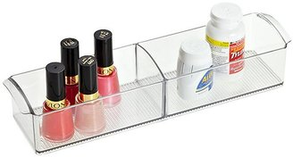 Container Store LinusTM Handled Cabinet Organizer Clear