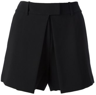 Alexander Wang pleated front shorts