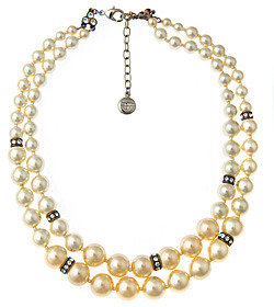 Ben-Amun Ben Amun Double Strand of Pearls Necklace
