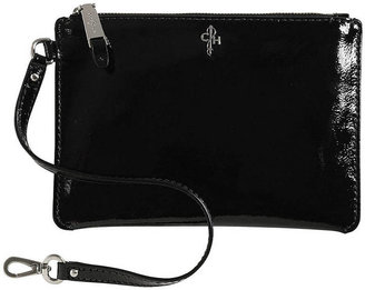 Cole Haan Medium Patent Leather Zip Pouch