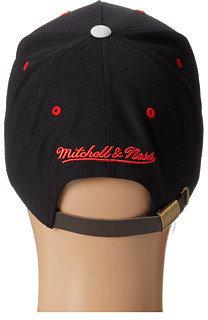 Mitchell & Ness NBA® Current Grey Cord Visor Strapback - Chicago Bulls
