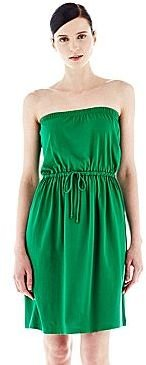 Joe Fresh Joe FreshTM Strapless Tie-Waist Dress
