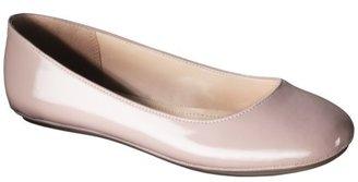 Mossimo Women's Odell Patent Ballet Flat - Blush