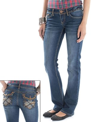 UNIONBAY maddy skinny bootcut jeans - juniors