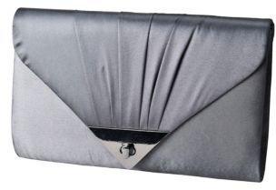 Jessica McClintock Satin Envelope Clutch