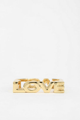 Urban Outfitters LOVE Bangle Bracelet