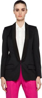 Stella McCartney Tuxedo Blazer in Black