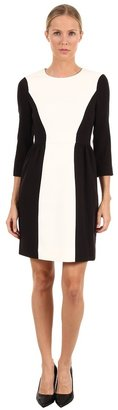 Kate Spade Tillie Dress (Black/Cream) - Apparel