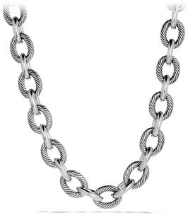 David Yurman Chain Link Necklace, Extra-Extra Large