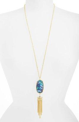 Women's Kendra Scott Rayne Stone Tassel Pendant Necklace $80 thestylecure.com