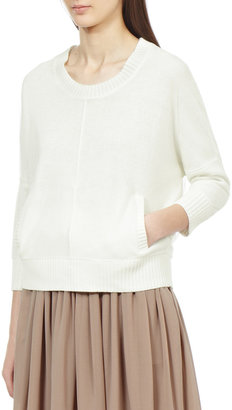 Reiss Filipa MESH COVERED SWEATSHIRT