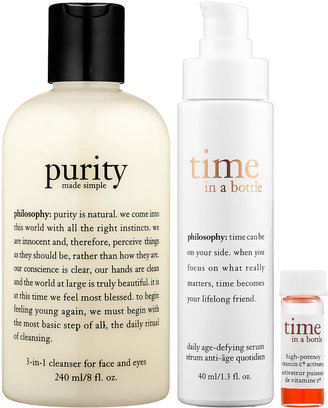 philosophy Time In A Bottle & Purity Made Simple® Duo