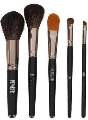 Topshop 'Gunmetal' Brush Set