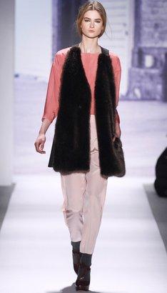 Tibi Fur Convertible Vest/Coat