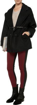 See by Chloe Belted wool-blend coat