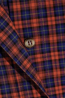 A.P.C. Atelier de Production et de Création Mike plaid cotton shirt