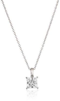 "Myia Passiello ""Timeless"" Swarovski Zirconia Solitaire Pendant Necklace, 18"" $59 thestylecure.com"