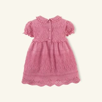 Sweet Pointelle Cotton Dress