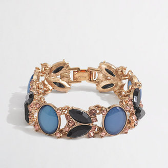 J.Crew Factory Factory oval crystal bracelet