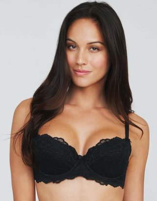 Just Peachy By Figleaves.Com Lace Padded Balconette Bra (A-DD)