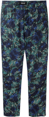 Zucca slouchy floral pant