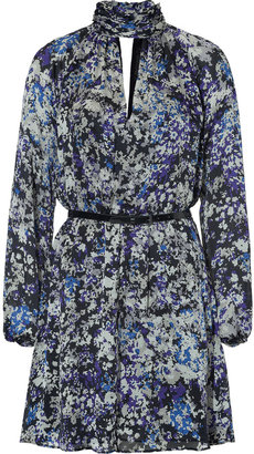 Rachel Zoe Silk Dress in Figue