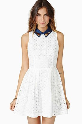 Nasty Gal Straight Laced Dress