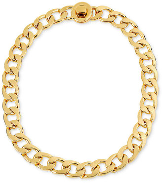 Kenneth Cole New York Necklace, Gold-Tone Link Necklace