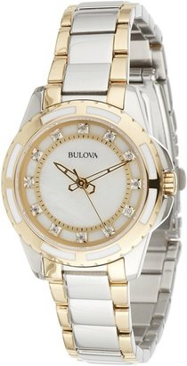 Bulova - Ladies Diamonds - 98P140 Watches $395 thestylecure.com