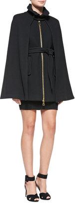Milly Textured Knit Sheath Dress