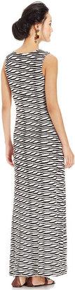 ECI Sleeveless Textured Maxi Dress