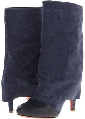 See by Chloe SB21161 (Arizona Calf Dark Blue/Crosta Calf) - Footwear