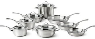 Calphalon 13-pc. Stainless Steel Contemporary Stainless Cookware Set