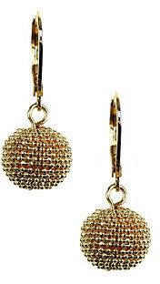 Anne Klein Goldtone Ball Drop Earrings