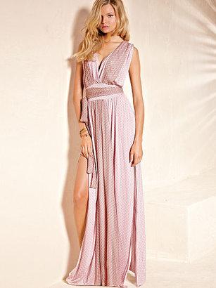 Victoria's Secret Chiffon-trim Maxi Dress