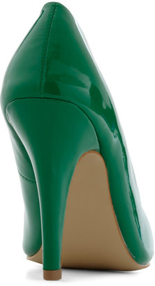 Profit and Gloss Heel in Green