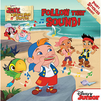 Disney Follow That Sound! Book - Jake and the Never Land Pirates