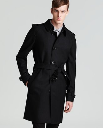 Burberry Wool Blend Trench
