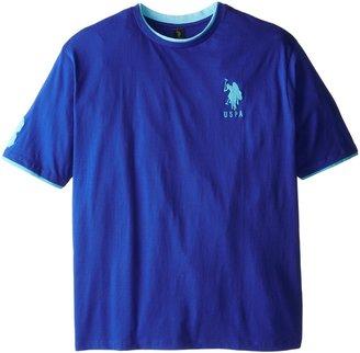 U.S. Polo Assn. Men's Big-Tall Crew Neck T-Shirt