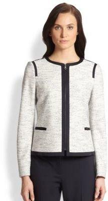 HUGO BOSS Koralie Jersey Tweed Jacket
