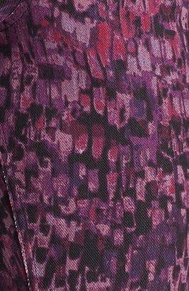 Hue 'Abstract Geo' Print Denim Leggings