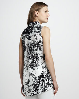 Rachel Zoe Geri II Printed Sleeveless Shirt