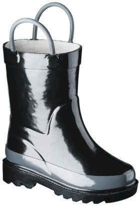 Toddler Loop Rain Boot - Black
